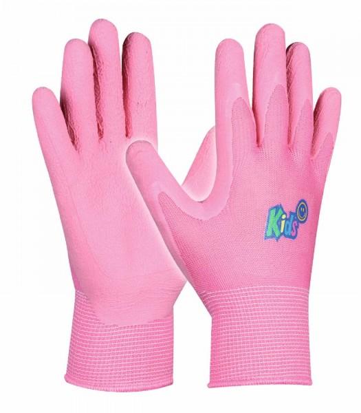 Arbeitshandschuhe Kids Pink für alle kleinen Hobbygärtner, Größe 5-8 Jahre.