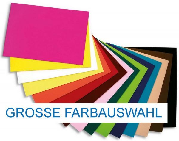 Textilfilz / Bastelfilz 3,5 mm, Format 30 cm x 45 cm, 1 Bogen pro Farbe