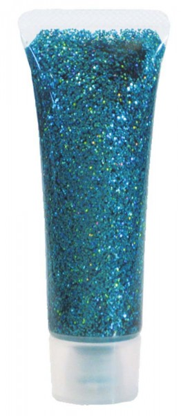 Glitter Schminkgel, 18 ml Tube