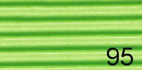 Bastelwellpappe von Folia SONDERFARBEN und Regenbogenwellpappe, 10 Bögen der gleichen Farbe