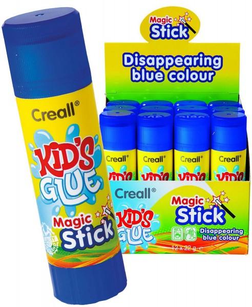 Zauber-Klebestift blau, 22 g, Packung mit 12 Stück