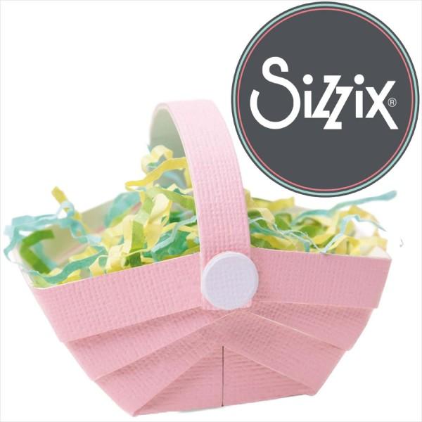 Sizzix Bigz: Körbchen - Basket