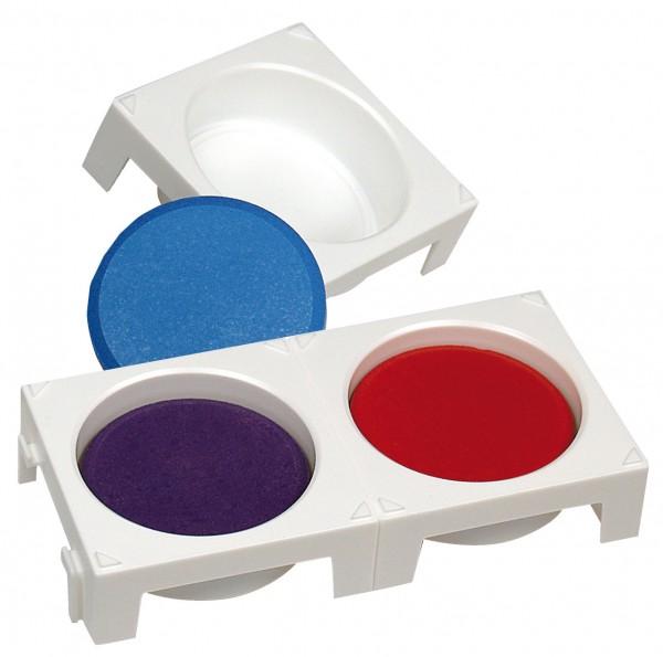 Steckpalette für einen Wasserfarben-Block 55 mm