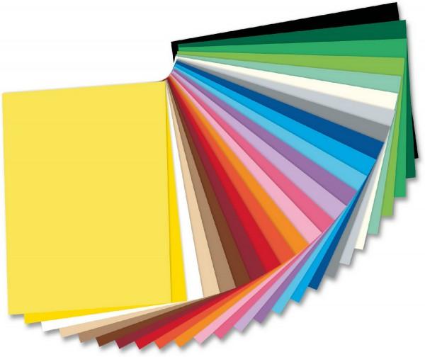Fotokarton SET von Folia mit 52 Farben Format 50 x 70 cm je 10 Blatt