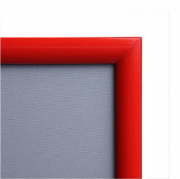 Plakatwechselrahmen, Profil 25 mm, rechtwinkelige Ecken, Antireflex-Schutzfolie