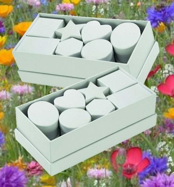 Pappschachteln sortiert, 15 Stück