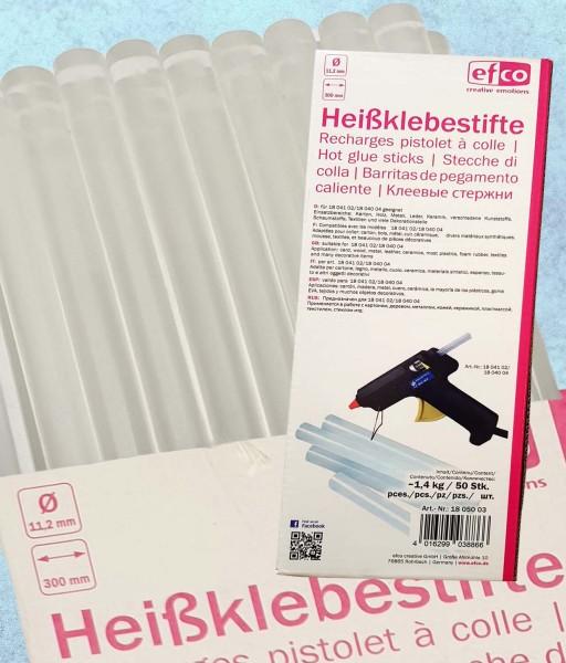 Klebesticks / Heißklebestifte Großpackung, 11,2 mm, 50 Sticks, 30 cm lang