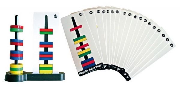 Magnetspiel: Schwebende Ringe mit Vorlagenkarten, Preis pro Stück