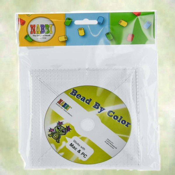 Nappi Maxi-Legeplatte inkl. Vorlagen-CD, 15 x 15 cm, 2 Stück