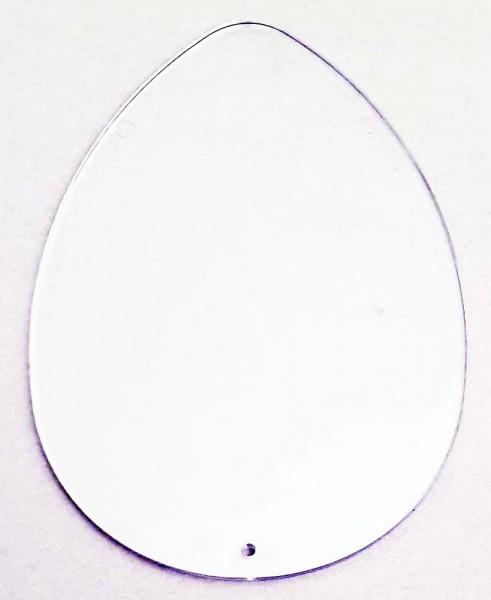 Acrylglas-Teil flach