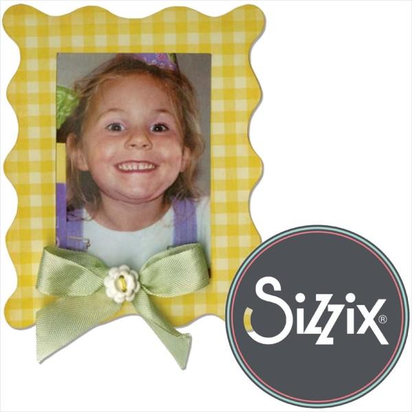 Sizzix Bigz: Bilderrahmen - Frame Wavy