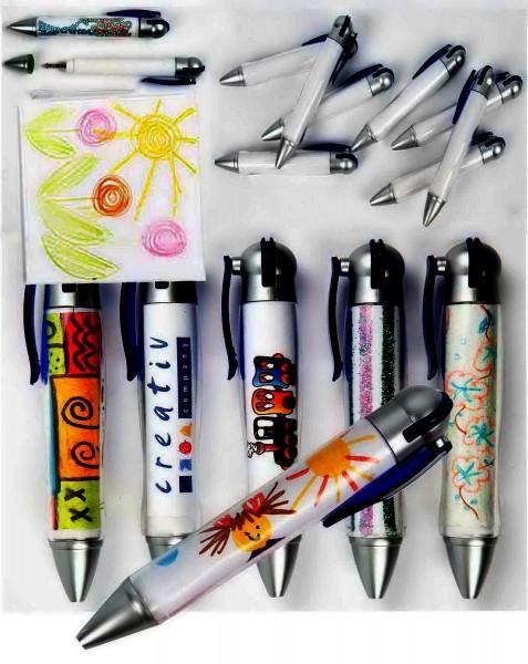 Kugelschreiber zum selbst Gestalten