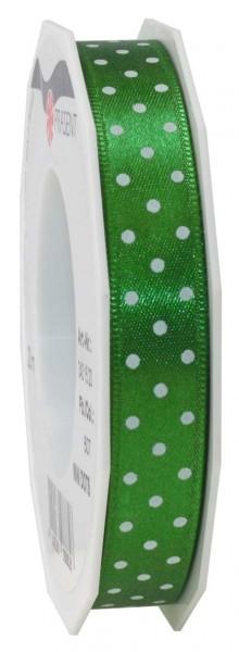 Band mit weißen Pünktchen, Breite 15 mm, Länge 20 m, Preis pro Rolle