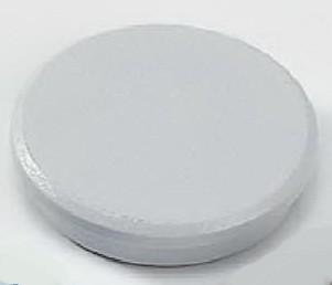 Haftmagnet rund, klein und groß, Packung mit 10 Stück