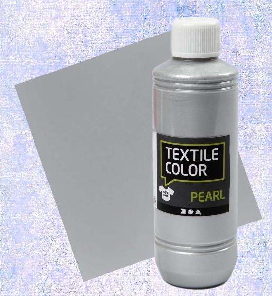 Textilfarbe Silber 250 ml