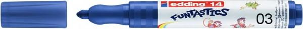 Kinderfasermaler Funtastics von Edding, 3mm Strichbreite, 10 Stück pro Farbe