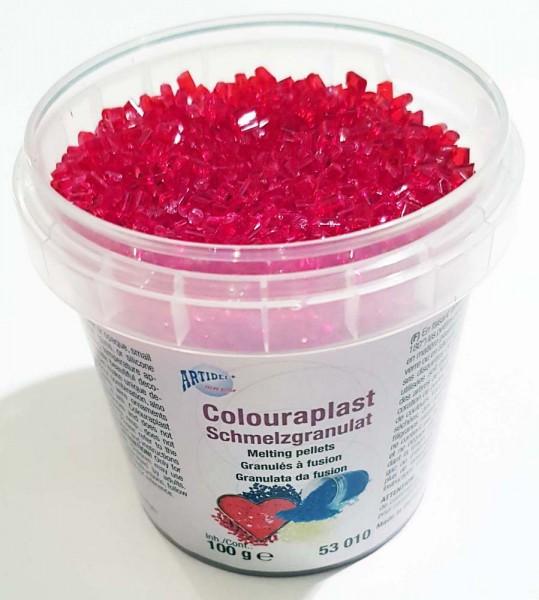 Schmelzgranulat Colouraplast, 100 g Dose