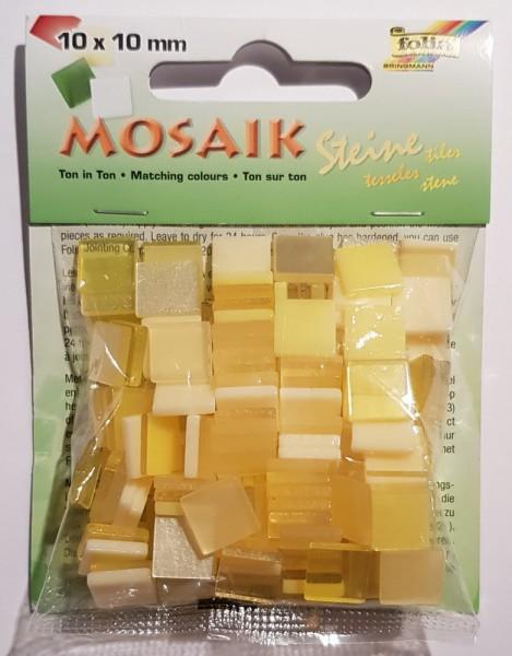 Mosaiksteine Ton in Ton-Mix, 2 verschiedene Größen, Preis pro Packung