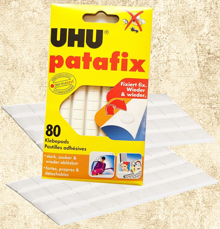 Uhu Patafix Klebepads, Packung mit 20 Stück