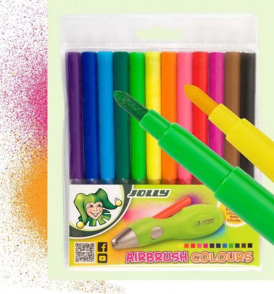 Farbpatronenstifte für Airbrush-Fun von Jolly – statt € 6,96 nur € 6,00