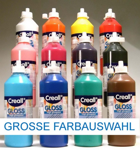 Creall Gloss Sonnenglanzfarbe, 500 ml, Preis pro Flasche