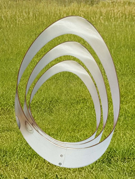 Ei-Ausstechformen SET, je 1 x 6 cm, 9 cm, 12 cm und 15 cm