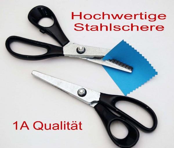 Stoff-Zackenschere, 20 cm, 1 Stück