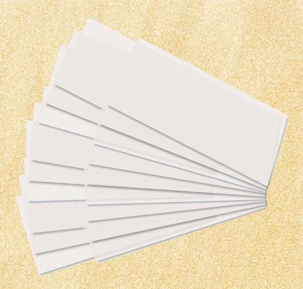 Laternenpapierzuschnitt für kleine Käseschachteln, Format 15,5 cm x 37 cm, 25 Blatt