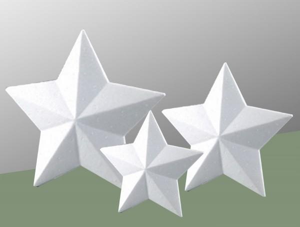 Styropor-Sterne