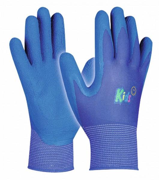 Arbeitshandschuhe Kids Blue für alle kleinen Hobbygärtner, Größe 5-8 Jahre.