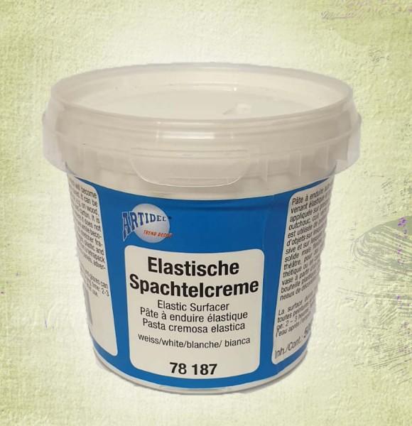 Spachtelcreme elastisch, weiß, selbstklebend, Inhalt 500 g