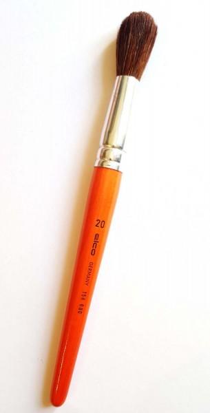 Schulmalpinsel supergroß, Stärke 20 - 13,6 mm Zwingendurchmesser