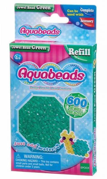Aquabeads Glitzerfarben, Packung mit 600 Stück einer Farbe