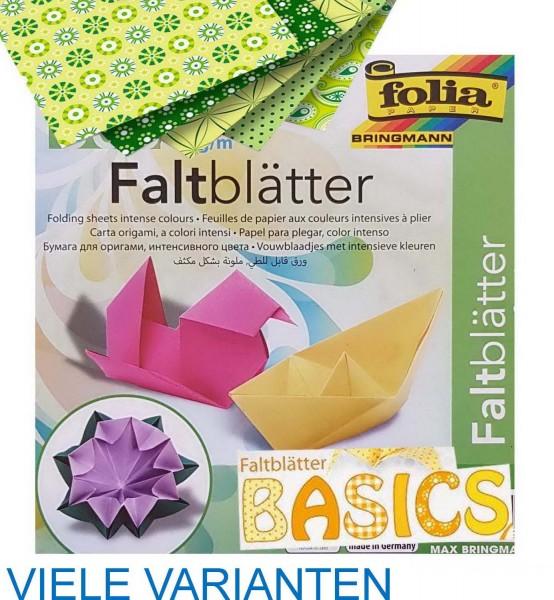 Faltpapier / Origamipapier