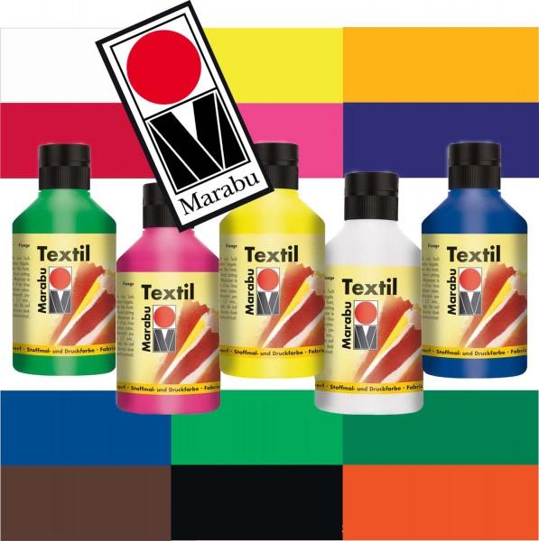 Marabu Stoffmalfarbe, 250 ml, Preis pro Flasche