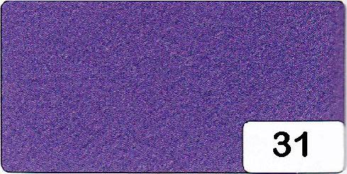 Bastelfilz 1,5 mm, Format 20 x 30 cm, 10 Bögen pro Farbe