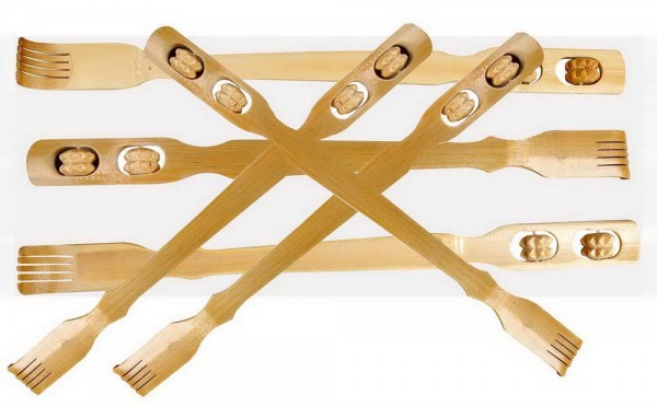 Rückenkratzer aus Bambus