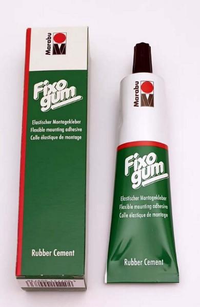 Fixogum – elastischer Klebstoff auf der Basis von Naturkautschuk und organischen Lösemitteln, 50 ml