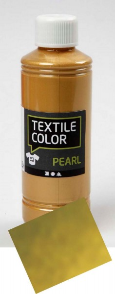 Textilfarbe Gold 250 ml